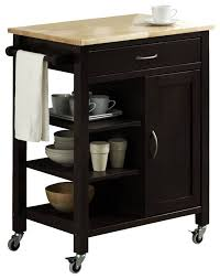 kitchen carts kitchen island cart dining table dark wood cart