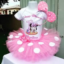 1st birthday tutu light pink minnie mouse 1st birthday tutu set baby minnie