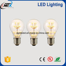china mtx led lighting a19 2700k 3w energy saving led bulb