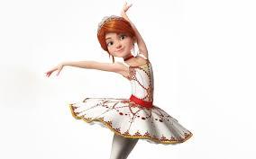 free desktop ballerina