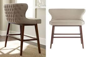 stools design awesome tufted barstool gray tufted barstools