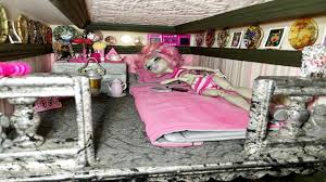 Monster High Bedroom Furniture by Study Hall Monster High Dollhouse Tour Room 9 Of 40 Bed Of