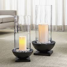 Crate And Barrel Wall Sconce Solaria Hurricane Candle Holders Crate And Barrel