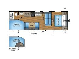 Jayco Travel Trailers Floor Plans by 2018 Jayco Jay Flight 26bh Alexandria Mn Rvtrader Com