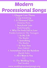 wedding processional processional songs processional songs songs and modern