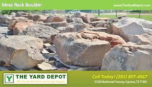 landscape rock the yard depot in cypress wholesale landscape