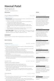Resume Examples For Internships by Engineering Intern Resume Samples Visualcv Resume Samples Database
