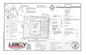 Residential Plan by Civil Engineering U0026 Engineers Leroy Surveyors And Engineers Inc