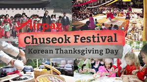 chuseok festival korean thanksgiving day