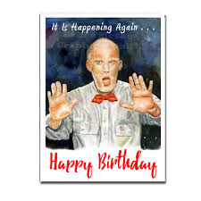 twin peaks twin peaks birthday card twin peaks holiday card