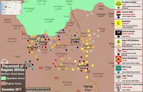 Syria Conflict Map Hama Map Detailing Names Nationalities And Placement Of Assad U0027s