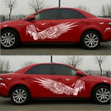subaru side decal xyivyg new for most car truck angel beauty graphics vinyl