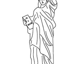 new jersey statue of liberty coloring page new jersey statue of