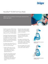novastar ts niv full face mask dräger pdf catalogue