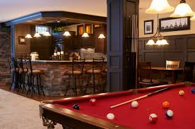 Finished Basement Bar Ideas Finished Basements Traditional Basement Other By