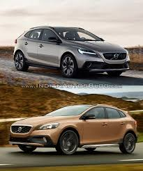 old volkswagen volvo 2016 volvo v40 facelift and cross country old vs new