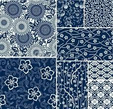 traditionele japanse naadloze vector patronen temari