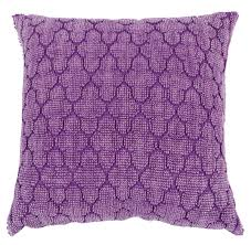 18 x 18 inch purple cushion cover with floral pattern in bulk