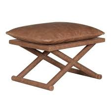 leather x bench antique brown u2013 ad hoc home