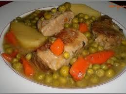 cuisiner le veau marmiton ragoût de veau aux petits pois du jardin recette de famille