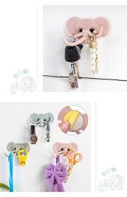 1 10 u20ac creative elephant design home storage organizer hook key