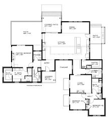 modern one level house plans