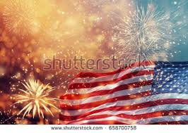 celebrating independence day united states america stock photo