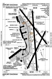 Map Of Washington Dc Airports by File Dca Airport Diagram Pdf Wikimedia Commons