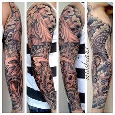 tattoo sleeve filler ideas