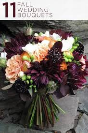 fall wedding bouquets best 25 fall bouquets ideas on fall wedding flowers