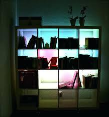 bookcase with lights led bookcase lights it led lights bookshelves