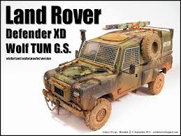 military land rover coldemons land rover defender xd u201dwolf u201d tum g s