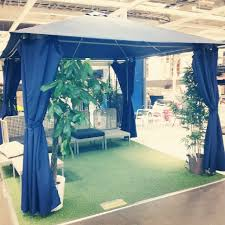Outdoor Gazebo With Curtains by Ikea Gazebo Outdoor Ikea Gazebo A Peaceful Place For Reflection