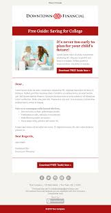 Email Blast Template Free by Top 8 B2b Email Templates For Marketers In 2017