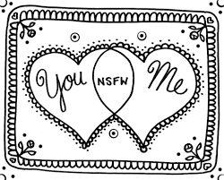 coloring pages yucca flats nm my valentine to you to print and