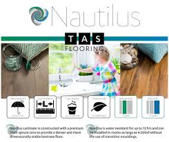 Laminate Flooring Water Resistant Laminate Style Nautilus Wide Color Carriage Tas Flooring
