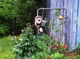 recycled garden flea market gardening