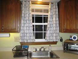 country kitchen curtains ideas stainless steel single handle