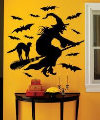 martha stewart crafts flying witch wall decal set zulily