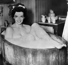 Bathtub Pinup Not Another New England Sports Blog Actress Pin Up Jane Russell