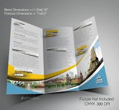 island brochure template travel brochure template free cyberuse