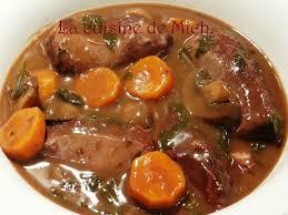 cuisiner joues de porc joues de porc au vin la cuisine de mich joue de porc vin