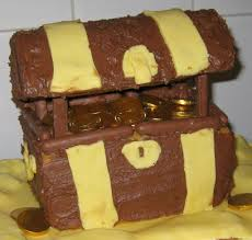 treasure chest cake for u0027s birthday party home decor and