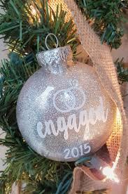 engaged christmas ornament christmas ideas