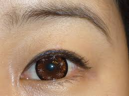 halloween contacts lenses brown star glow contact lenses gallery 7