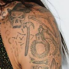 jodie marsh s 22 tattoos meanings style page 2