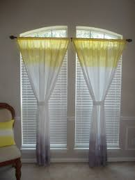 Mustard Colored Curtains Inspiration Yellow And Gray Curtains Modern Kitchen Solid Yellow Curtains