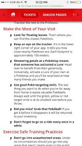 Closest Six Flags Got Some Great Pogo Tips From Six Flags Pokemongo