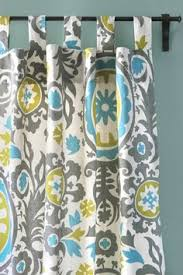 Tab Curtains Pattern Button Nursery Curtains This But In A Different Pattern For A