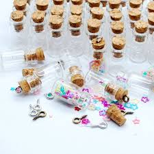 where to buy mini glass bottles for crafting and party favors